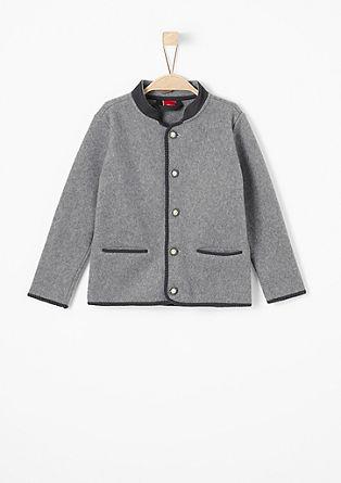 Tradicionalna jakna v videzu filca