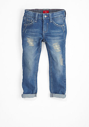 Pelle: Destroyed & Repaired-Jeans