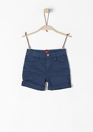 Pelle: 5-Pocket-Bermuda
