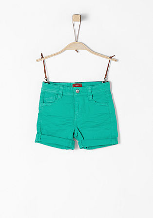 Pelle: five-pocket Bermudas from s.Oliver