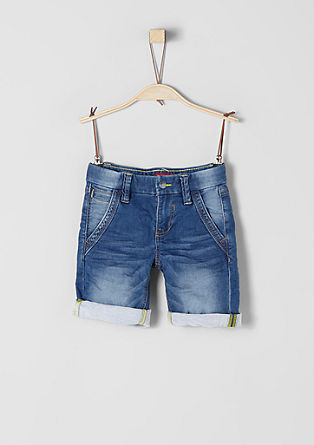 Pelle: casual denim van sweatstof
