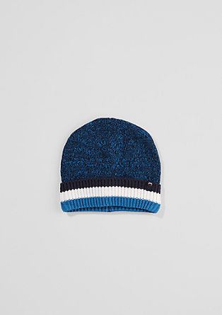 Lined knit hat from s.Oliver