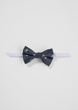 Bow tie with a jacquard pattern from s.Oliver