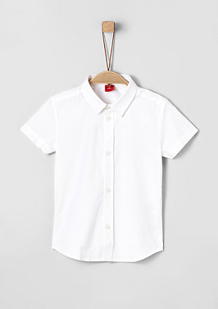 Slim: Elegant short sleeve shirt from s.Oliver