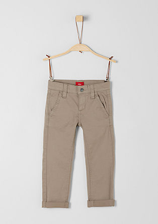 Brad: Textured chinos from s.Oliver