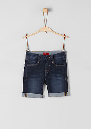 Brad: denim Bermudas from s.Oliver