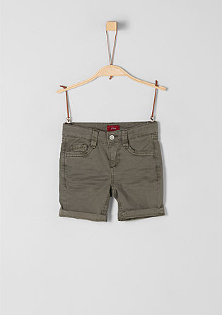 Brad: Lightweight Bermuda shorts from s.Oliver