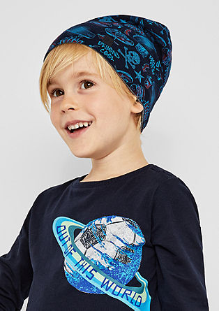 Reversible jersey hat from s.Oliver