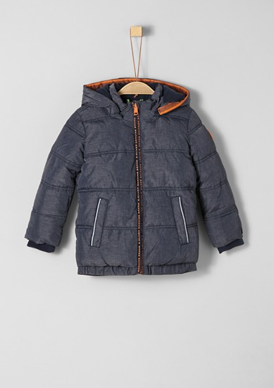 Puffer jacket with fleece lining from s.Oliver