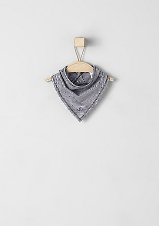 Finely striped neckerchief from s.Oliver