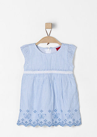 Striped cotton dress from s.Oliver