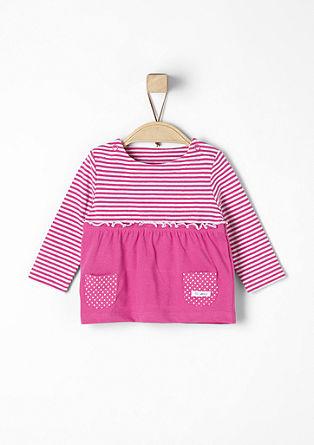 Shirt mit Rüschen und Taschen