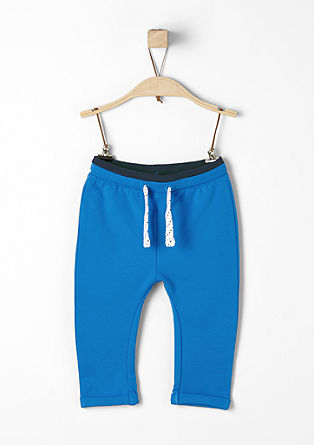 Tracksuit bottoms with a drawstring from s.Oliver