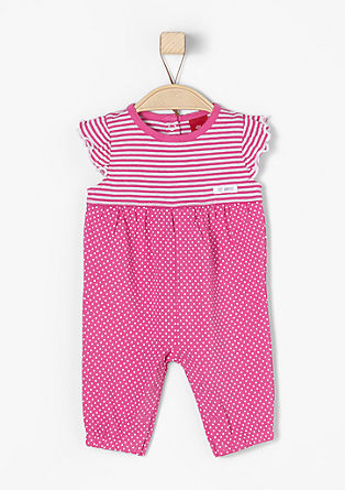 Mixed pattern romper suit from s.Oliver