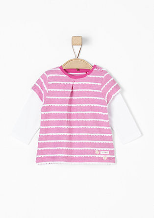 Langarmshirt im 2-in-1-Look