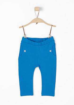 Jogging Pants mit Zierknöpfen