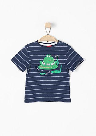 Gestreiftes Jacquard-Shirt