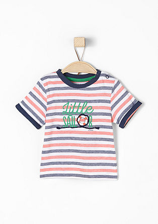 Striped print T-shirt from s.Oliver