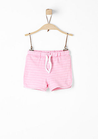 Lightweight jacquard shorts from s.Oliver