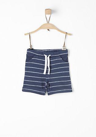 Jacquard-Shorts mit Streifen