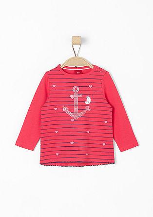 Longsleeve im Sailor-Look