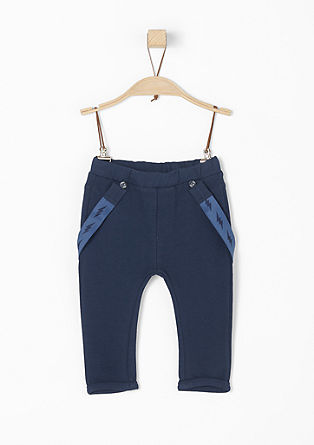 Trousers with detachable braces from s.Oliver