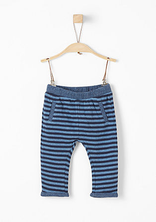 Striped tracksuit bottoms from s.Oliver