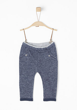 Melange tracksuit bottoms from s.Oliver