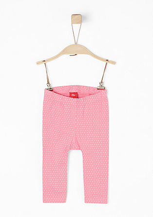 Polka dot jersey leggings from s.Oliver