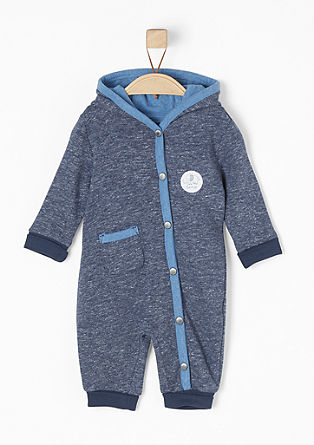 Onesie in sweatshirt fabric from s.Oliver