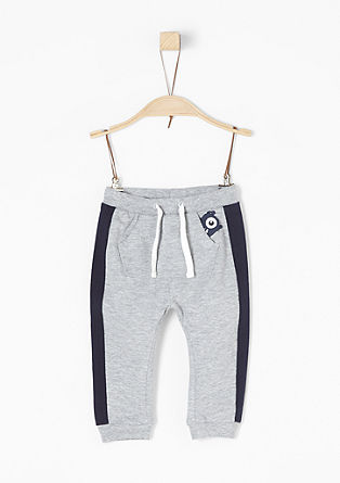 Tracksuit bottoms with contrast details from s.Oliver