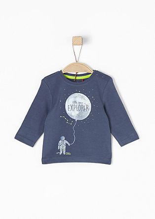 Shirt mit Astronauten-Print