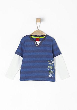 Shirt mit reflektierendem Print