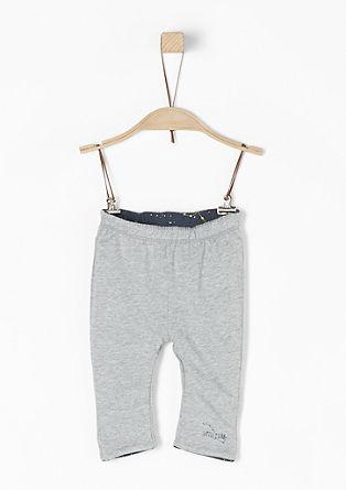 Obojestranske hlače iz džersija