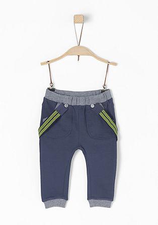 Jogging Pants mit Hosenträgern