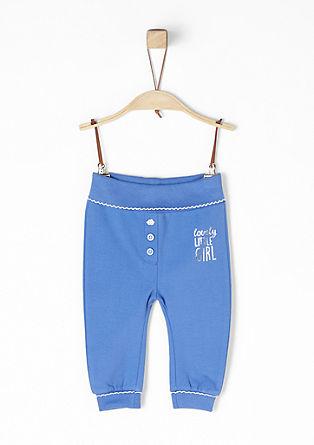 Jogging Pants mit Bogenkanten