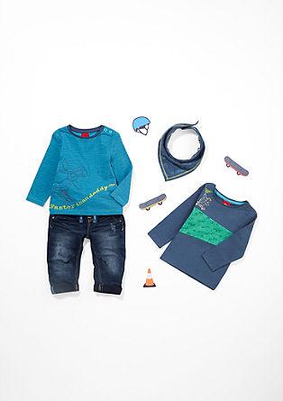 Langarmshirt im Ringel-Design