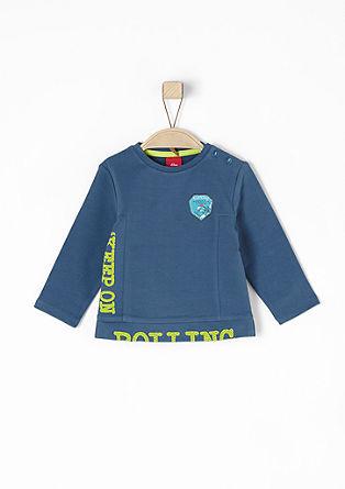 Sweatshirt mit Neon-Schrift