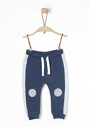 Jogging Pants mit Knie-Patches