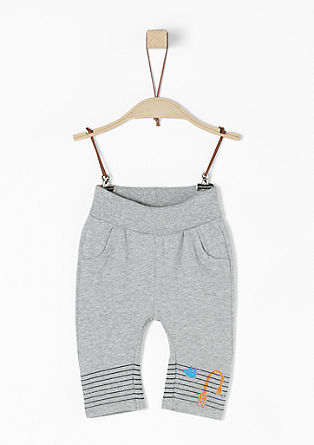 Sweat Pants mit Print