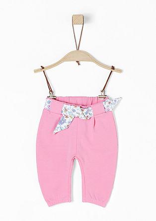 Jogging Pants mit Bindegürtel