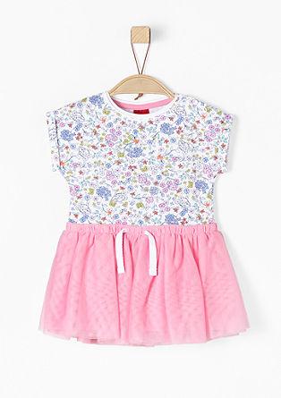 Hravé šaty s tylovou sukní