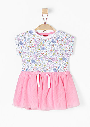 Verspieltes Kleid mit Tüllrock