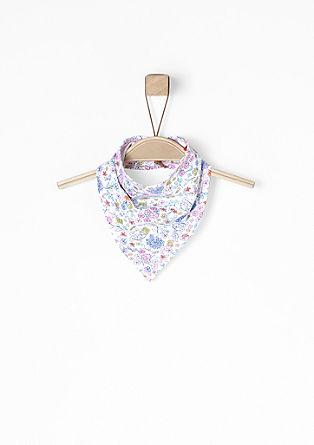 Dreieckiges Halstuch mit Print