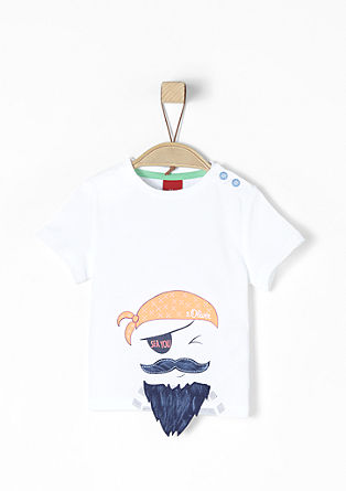 T-shirt pirate animé d'une application de s.Oliver
