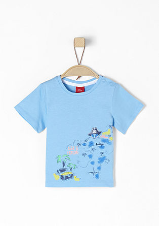 T-Shirt mit Schatzkarte