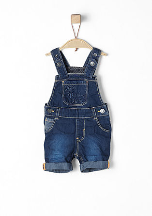 Short denim dungarees from s.Oliver