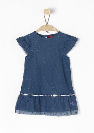 Kleid mit Tüll und Pailletten