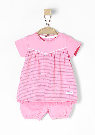 Short 2-in-1 baby body dress from s.Oliver