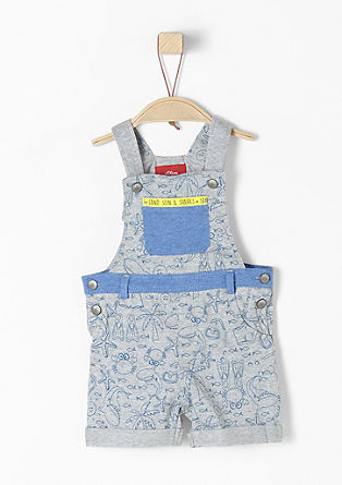 Short jersey dungarees from s.Oliver